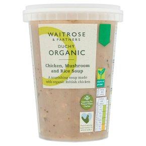 Duchy Organic Chicken, Mushroom & Rice Soup