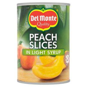 Del Monte Peach Slices in Light Syrup