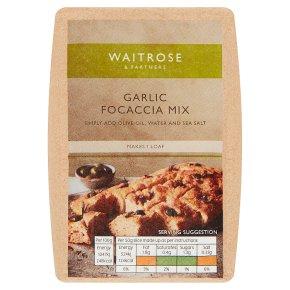 Waitrose Garlic Focaccia Mix