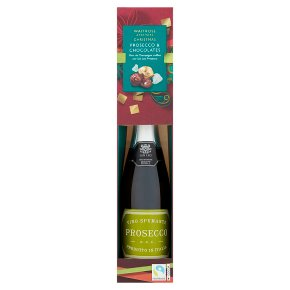 Waitrose Christmas Prosecco & Chocolates