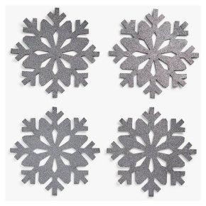 John Lewis Snowflake Felt Placemats