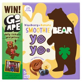 BEAR Blueberry & Banana Smoothie Yoyo's
