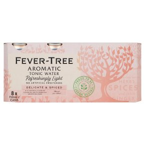 Fever-Tree Refreshingly Light Aromatic Tonic