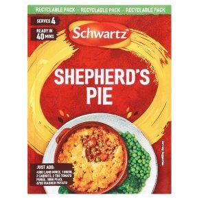 Schwartz Recipe Mix Shepherd's Pie