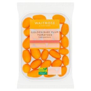 Waitrose Golden Baby Plum Tomatoes