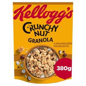 Kellogg's Crunchy Nut Granola Caramel Hazelnuts