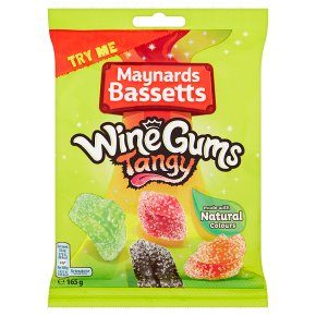 Maynards Bassetts Tangy Wine Gums
