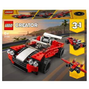 LEGO Creator 3 in 1 Sports Car Hot Rod