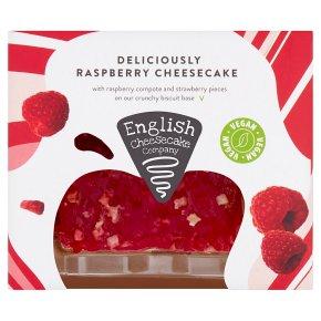 English Cheesecake Company Deliciously Raspberry Cheesecake