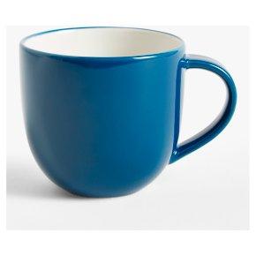 John Lewis Anyday Stoneware Mug Navy