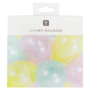 TT Pastel Balloons 16pk
