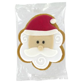 Image on Food Iced Gingerbread Alfie Elf/Santa 55g/65g