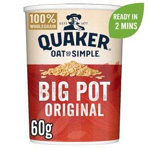 Quaker Oat So Simple Original Porridge Big Pot