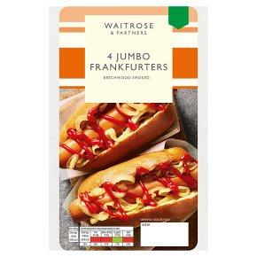 Waitrose 4 Jumbo Frankfurters