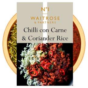 Waitrose No1 Chilli Con Carne & Rice