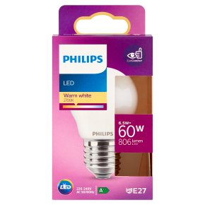 Philips LED White 6.5w E27