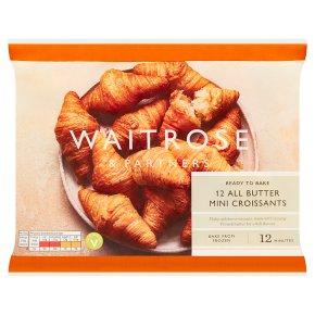 Waitrose 12 Mini French Croissants