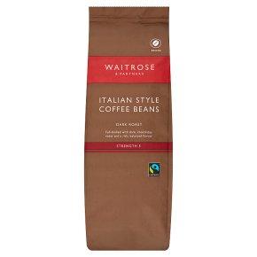 Waitrose Italian Style Coffee Beans
