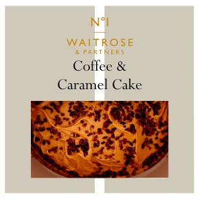 No. 1 Coffee & Caramel Cake