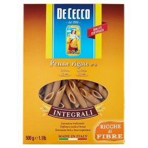De Cecco Wholewheat Penne Rigate
