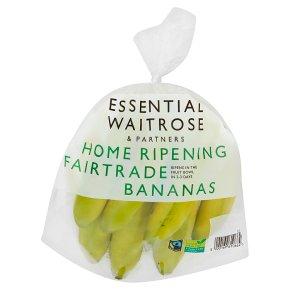 Essential Home Ripening Fairtrade Bananas