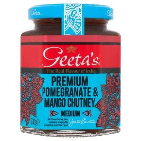 Geeta's Pomegranate & Mango Chutney