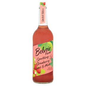 Belvoir Strawberry, Lime & Mint Cordial
