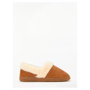 John Lewis Comfort Cuff Slippers M