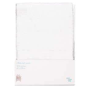 John Lewis Anyday 2 Baby Towels
