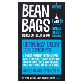 Bean Bags 10s Definitely Decaf