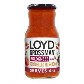 Loyd Grossman Portobello Mushroom Bolognese Sauce