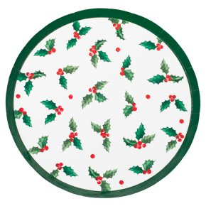 Ginger Ray Holly Leaf Plates