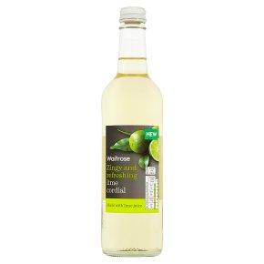 Waitrose Lime Cordial