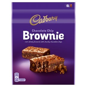 Cadbury Chocolate Chip Brownie