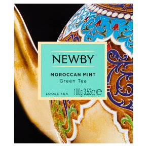 Newby Moroccan Mint Loose Green Tea
