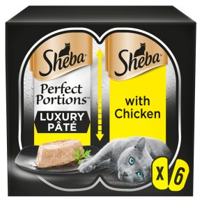 Sheba Perfect Portions with Chicken & Pate