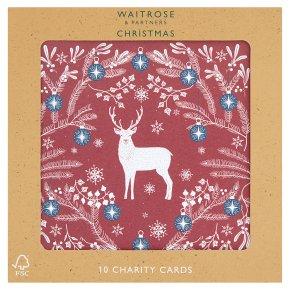 Waitrose Christmas Scandi Charity Cards