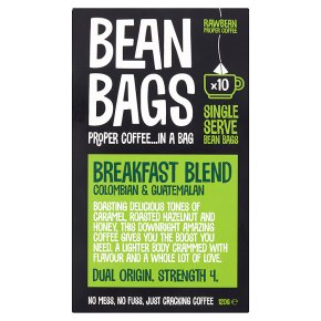 Bean Bags 10s Breakfast Blend