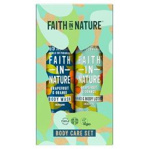 Faith In Nature Body Care Set