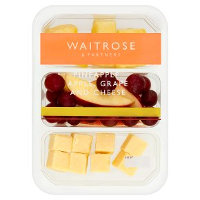 Waitrose Pineapple, Apple, Grape & Cheese