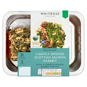 Waitrose Lightly Smoked Salmon Rarebit