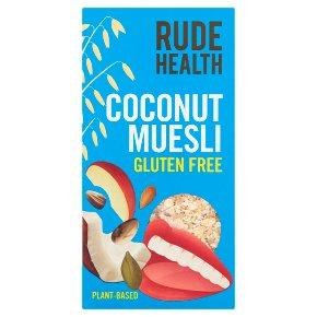 Rude Health Gluten Free Coconut Muesli