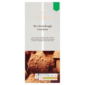 No.1 Rye Sourdough Crackers