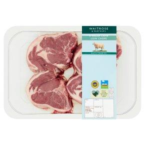 Waitrose 4 British Lamb Loin Chops