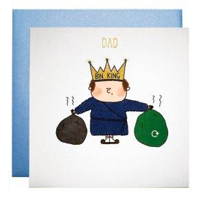 Bin King Dad Card