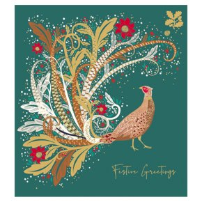 Pheasant With Magical Feathered Tai
