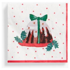 TT Christmas Pudding Napkins