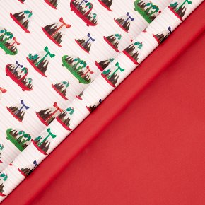 John Lewis Xmas Pudding Wrap 4m