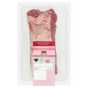 Waitrose Hereford beef flat brisket