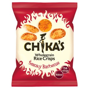Chika's Smoky Barbecue Rice Crisps
